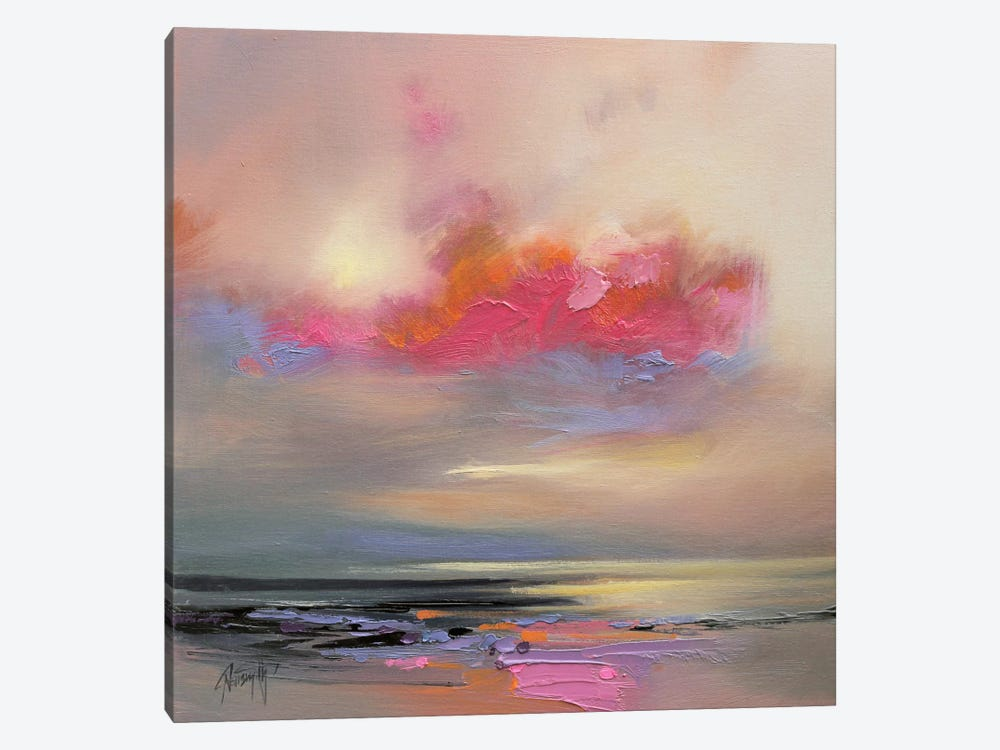 Magenta Cloud by Scott Naismith 1-piece Art Print