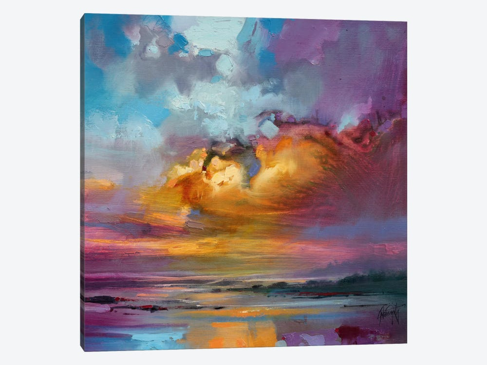 Consonant Sky by Scott Naismith 1-piece Canvas Art Print