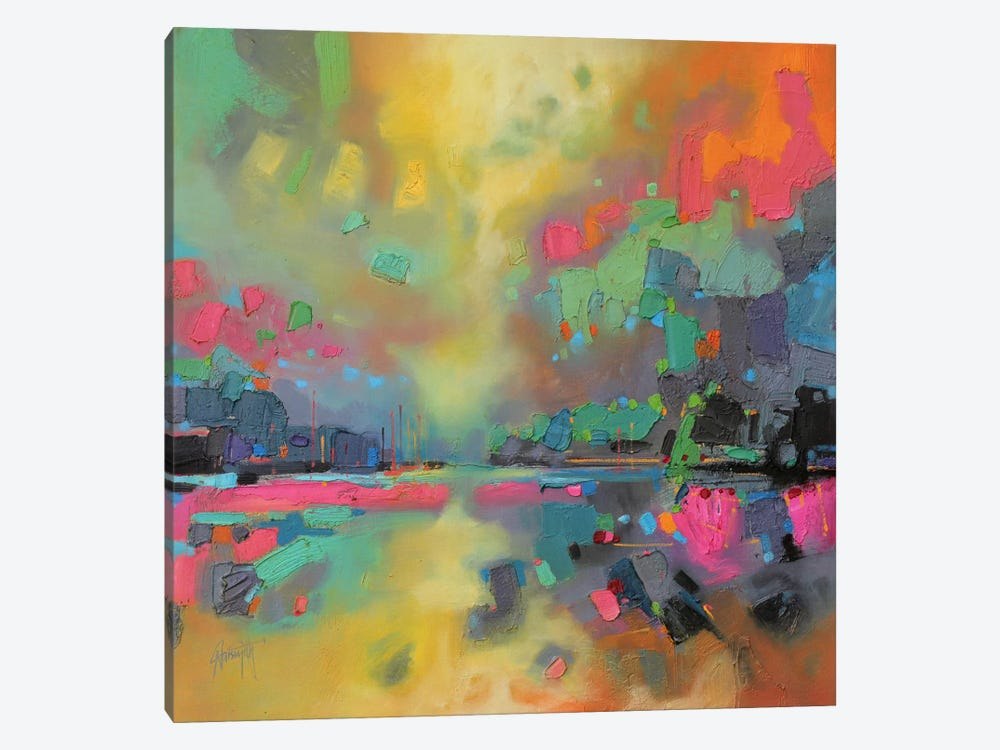 Saturation by Scott Naismith 1-piece Canvas Art