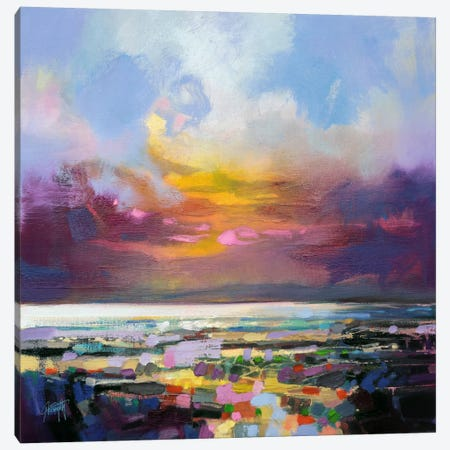 Staccato Shore Canvas Print #SNH43} by Scott Naismith Canvas Wall Art