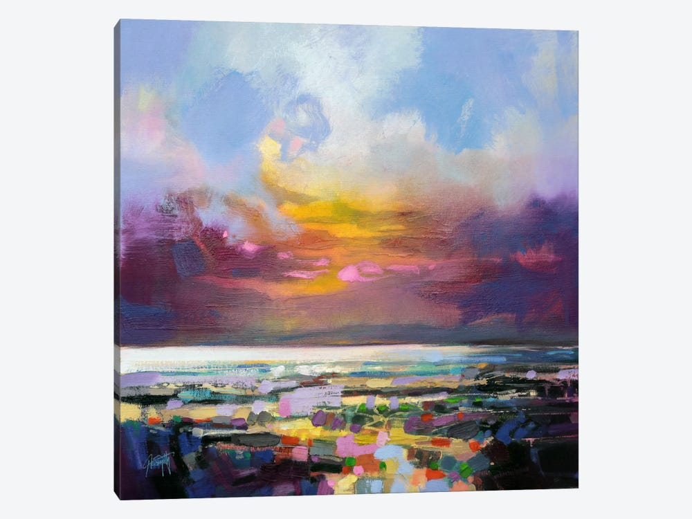 Staccato Shore by Scott Naismith 1-piece Art Print
