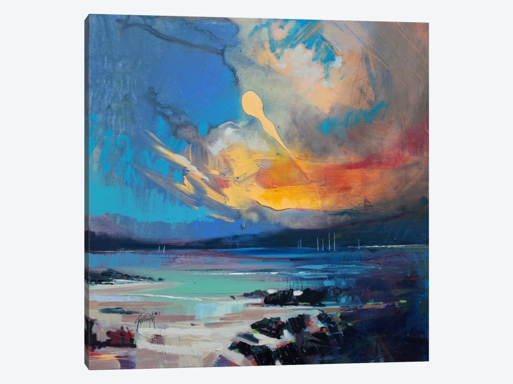 Blustery Sky Hebrides by Scott Naismith 1-piece Canvas Artwork