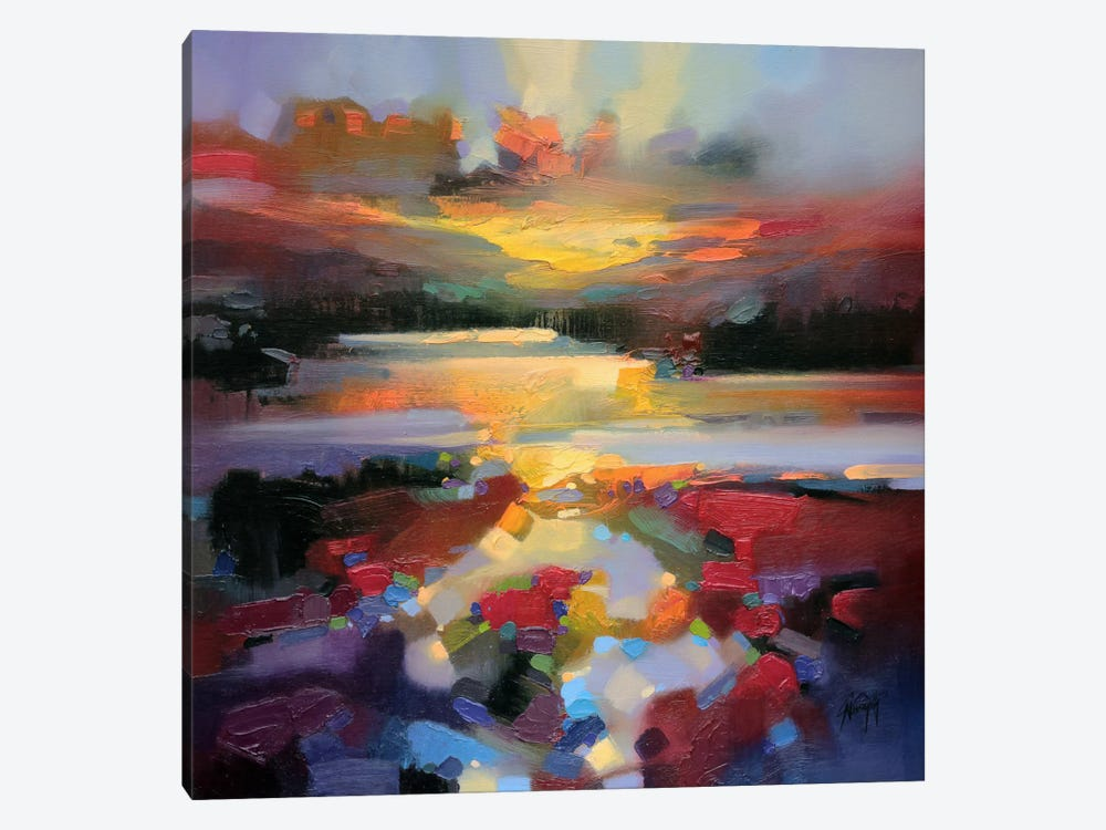 Glen Spean Red by Scott Naismith 1-piece Art Print