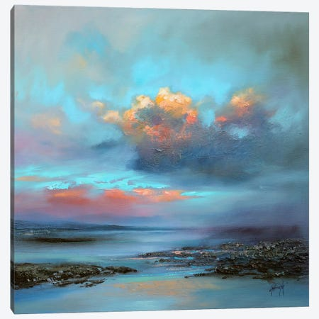 Hebridean Light I Canvas Print #SNH50} by Scott Naismith Canvas Print
