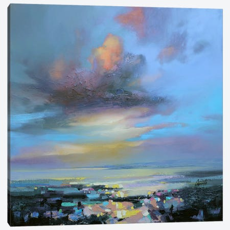 Hebridean Light II Canvas Print #SNH51} by Scott Naismith Canvas Art Print