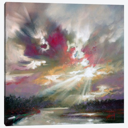 Loch Light II Canvas Print #SNH52} by Scott Naismith Canvas Art Print