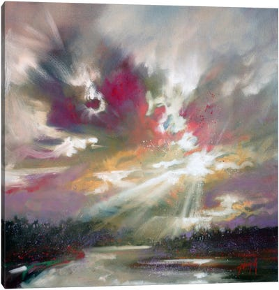 Loch Light II by Scott Naismith Canvas Art Print