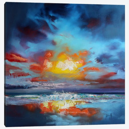 Uist Cloud II Canvas Print #SNH54} by Scott Naismith Canvas Wall Art