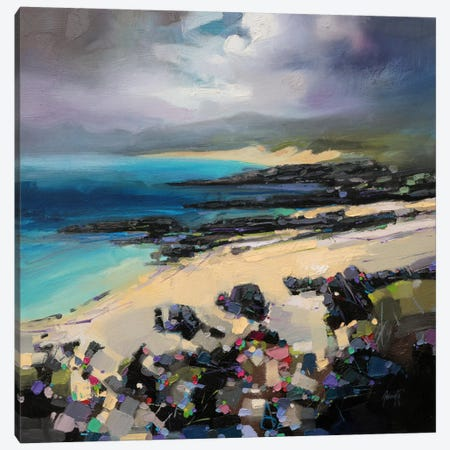 Coulours of Harris Canvas Print #SNH56} by Scott Naismith Canvas Artwork