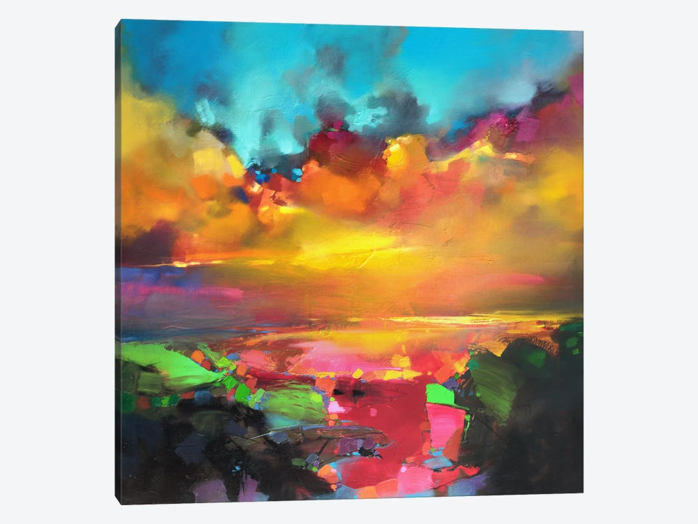Consonance And Disonance by Scott Naismith 1-piece Canvas Artwork