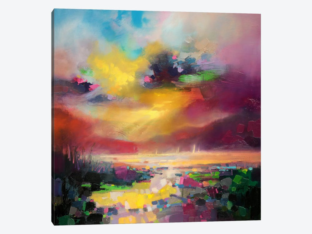 Dissonance by Scott Naismith 1-piece Canvas Print