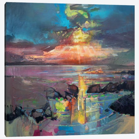 Harris Sky Canvas Print #SNH59} by Scott Naismith Canvas Print