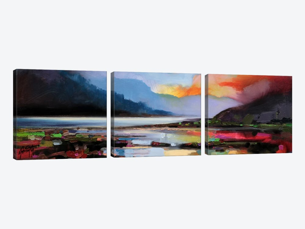 Ethereal Light by Scott Naismith 3-piece Canvas Art Print