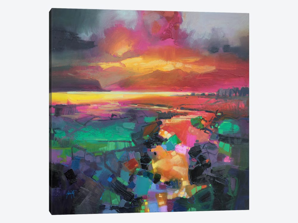 Magenta Rum by Scott Naismith 1-piece Canvas Wall Art
