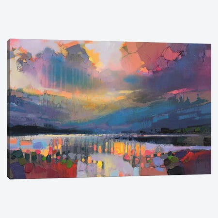 Lomond Light Canvas Print #SNH61} by Scott Naismith Canvas Art