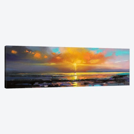 Sunburst Canvas Print #SNH62} by Scott Naismith Canvas Artwork