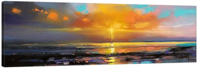 Sunburst Canvas Art Print