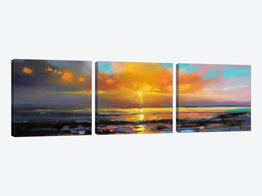Sunburst by Scott Naismith 3-piece Canvas Artwork