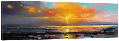 Sunburst Canvas Art Print