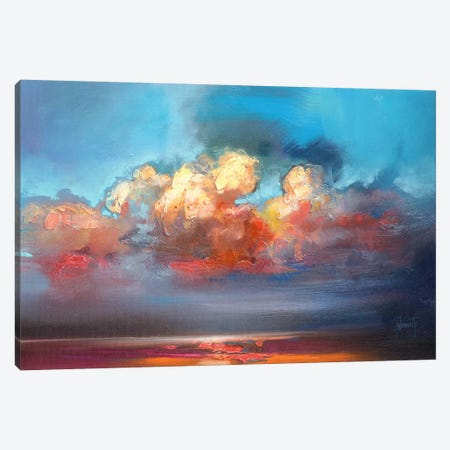 Vermillion Cumulus  Canvas Print #SNH63} by Scott Naismith Canvas Artwork