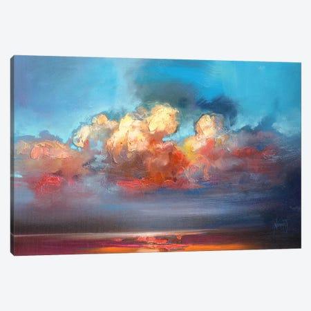 Vermillion Cumulus  Canvas Print #SNH63} by Scott Naismith Canvas Artwork