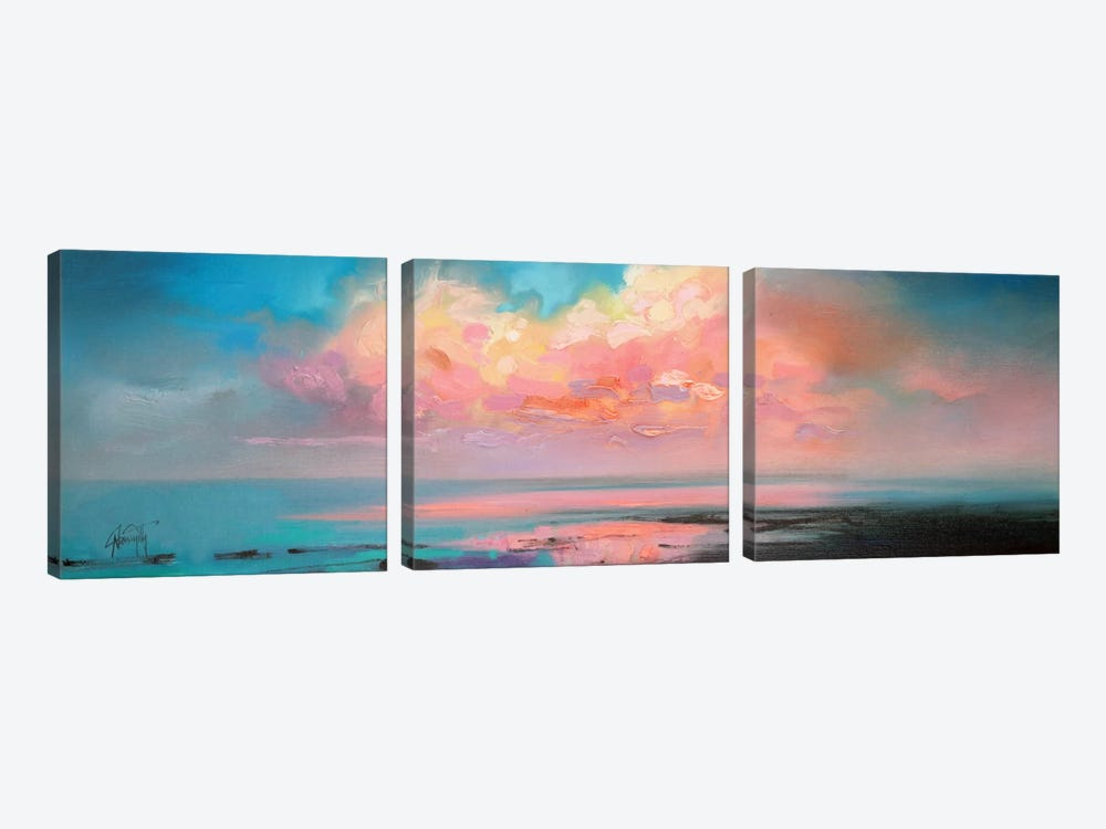 Atlantic Cumulus by Scott Naismith 3-piece Canvas Artwork