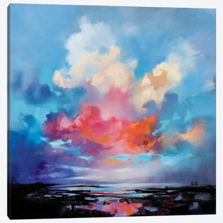 Diffusion I Canvas Print #SNH67} by Scott Naismith Canvas Art Print