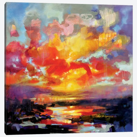 Emerging Canvas Print #SNH68} by Scott Naismith Canvas Artwork