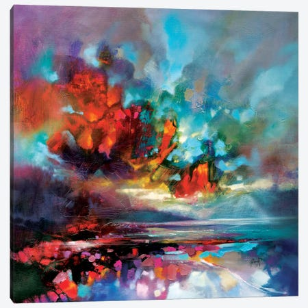 Solidify I Canvas Print #SNH69} by Scott Naismith Canvas Wall Art
