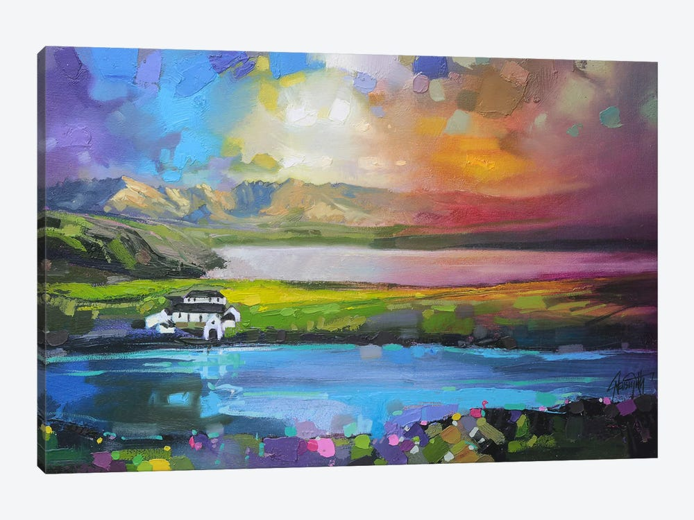 Gesto Farm Skye by Scott Naismith 1-piece Canvas Art