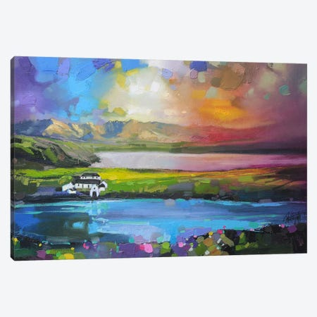Gesto Farm Skye Canvas Print #SNH6} by Scott Naismith Canvas Art Print