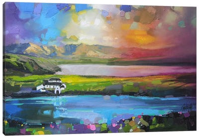 Gesto Farm Skye Canvas Art Print