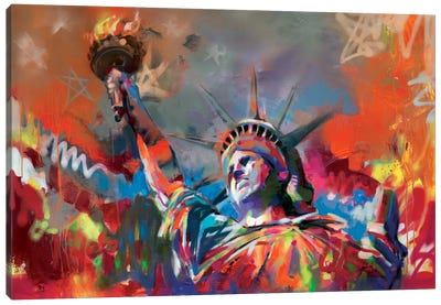 Statue of Liberty Canvas Art Print