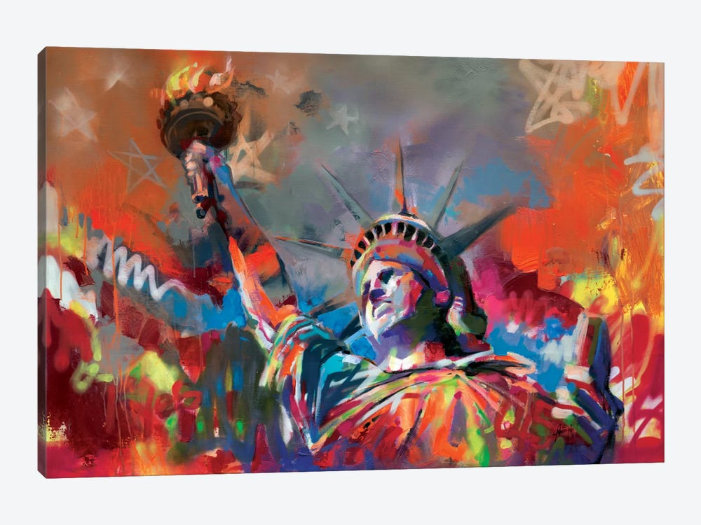 Statue of Liberty 1-piece Canvas Print