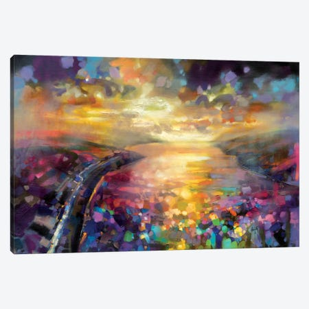 Particles I Canvas Print #SNH71} by Scott Naismith Canvas Art Print
