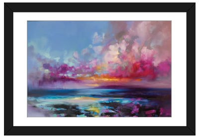 Arran Glow Framed Art Print