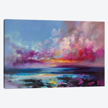 Arran Glow Canvas Print #SNH72} by Scott Naismith Canvas Art Print