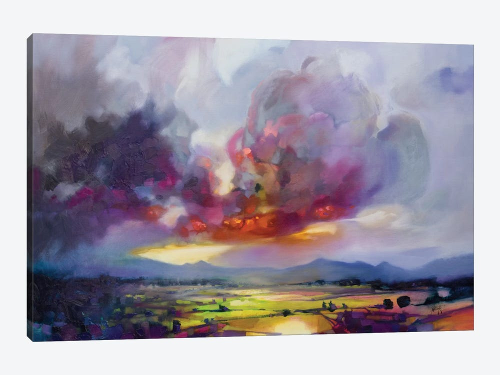 Bulk Modulus by Scott Naismith 1-piece Canvas Artwork