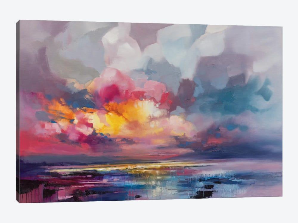 Displacement by Scott Naismith 1-piece Canvas Art Print