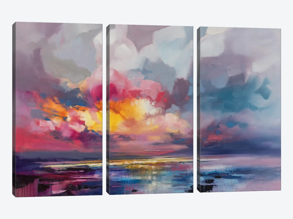 Displacement by Scott Naismith 3-piece Art Print