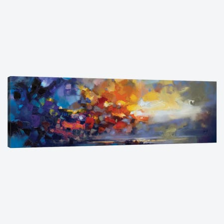 Molecular Light Canvas Print #SNH75} by Scott Naismith Canvas Artwork