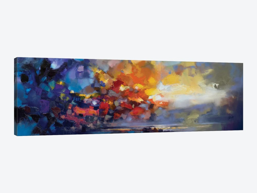 Molecular Light by Scott Naismith 1-piece Canvas Artwork