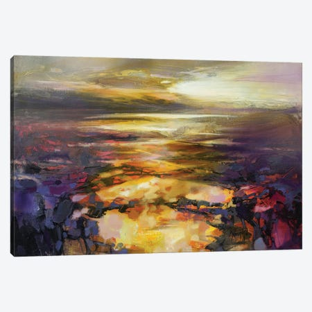 Path Of Reflections Canvas Print #SNH76} by Scott Naismith Canvas Wall Art