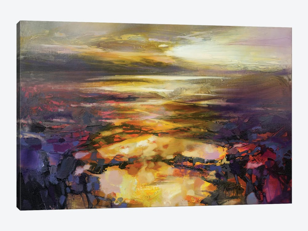 Path Of Reflections by Scott Naismith 1-piece Canvas Art Print