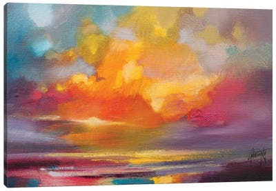 Sunset Canvas Print #SNH79