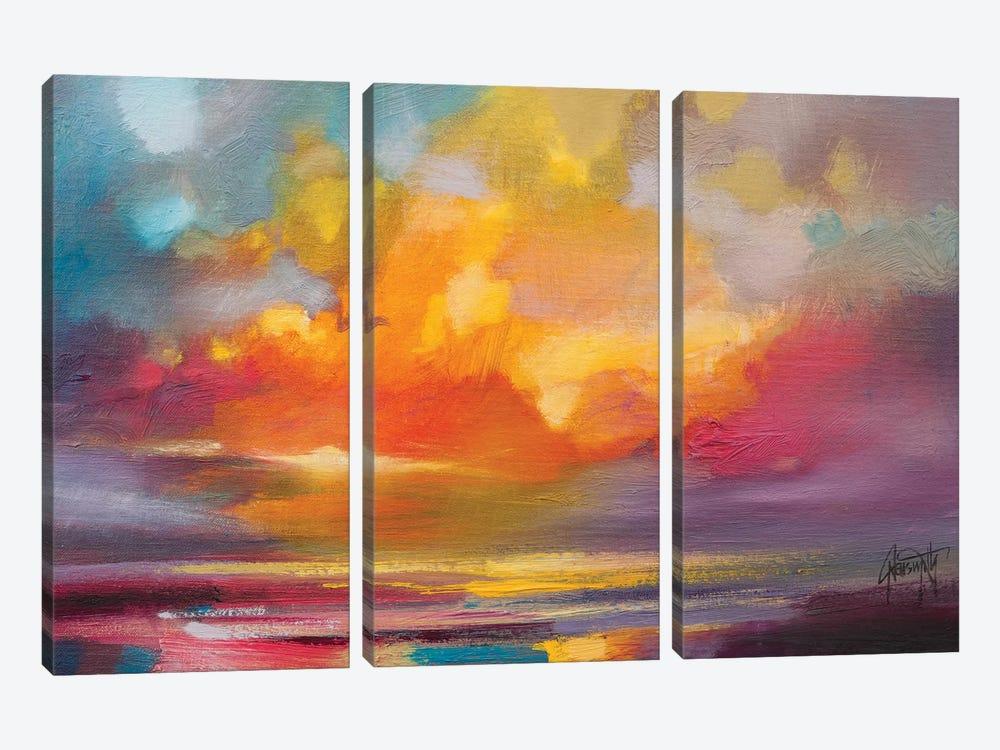 Sunset by Scott Naismith 3-piece Canvas Art