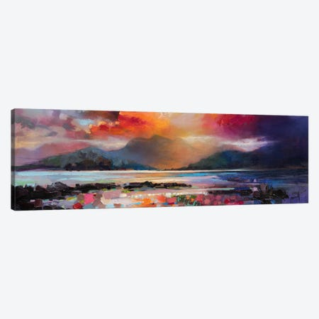 View From Armadale Canvas Print #SNH7} by Scott Naismith Art Print