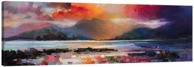 View From Armadale by Scott Naismith Canvas Art Print