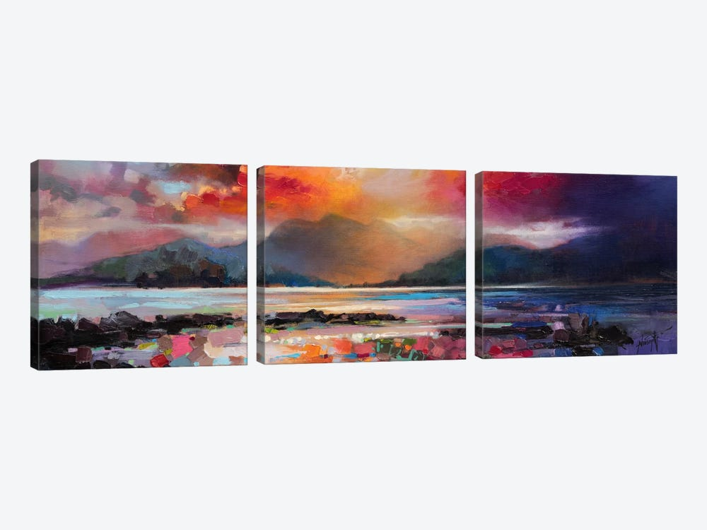 View From Armadale by Scott Naismith 3-piece Canvas Print