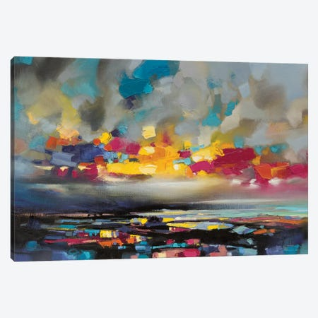 Particles II Canvas Print #SNH80} by Scott Naismith Canvas Wall Art